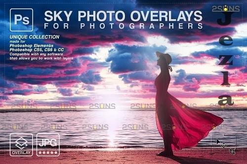 Sunset Sky Photo Overlays, PHSP V7 - 1583971