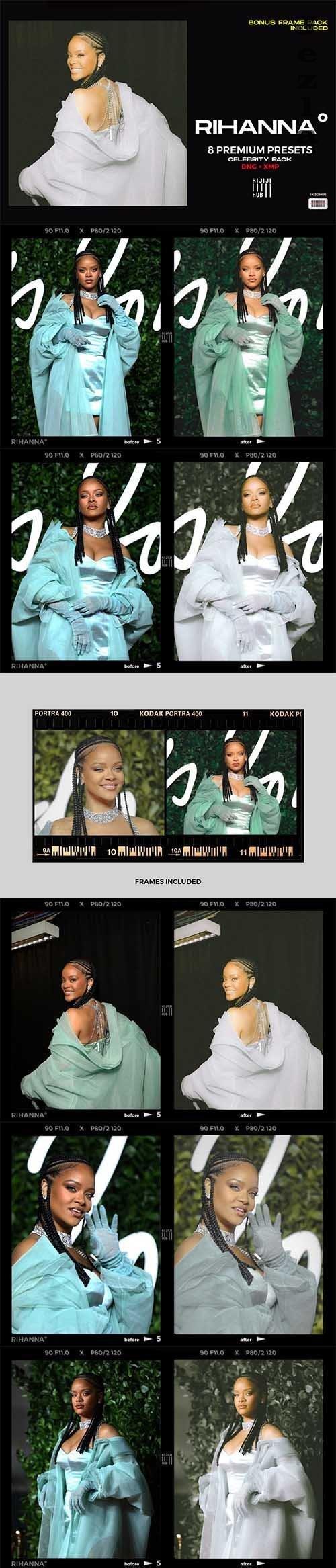 Rihanna LRM Presets - 6406925