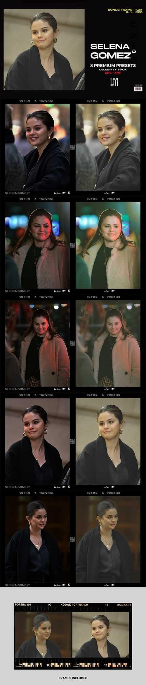 Selena Gomez LRM Presets - 6406930