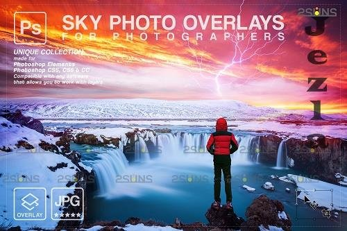 Sunset Sky Photo Overlays, PHSP V8 - 1583973
