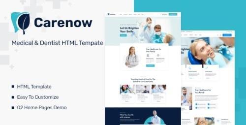 ThemeForest - Carenow v1.0.1 - Medical & Dentist HTML Tempate - 33456447