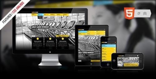 ThemeForest - Olimpia v1.4 - Responsive Fullscreen Fitness Center - 2401889