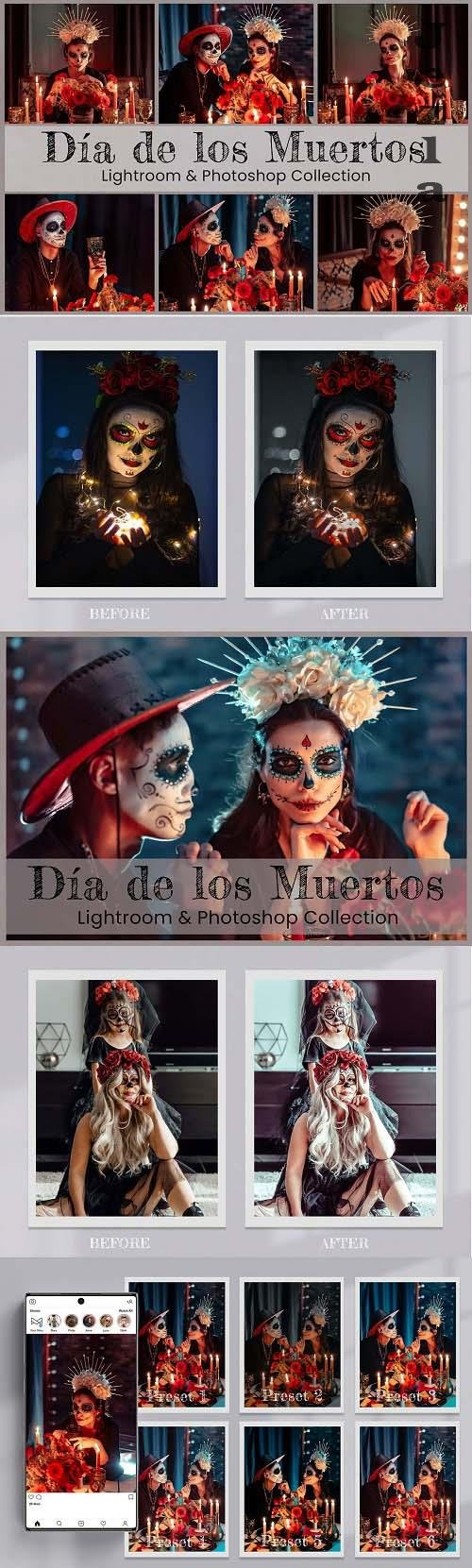 Dia de Los Muertos LRM PS LUTs - 6525741