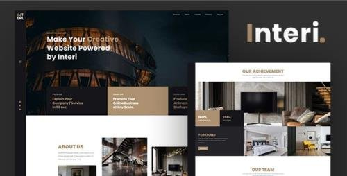 ThemeForest - Interi v1.0 - Creative Interior HTML Template - 33954163