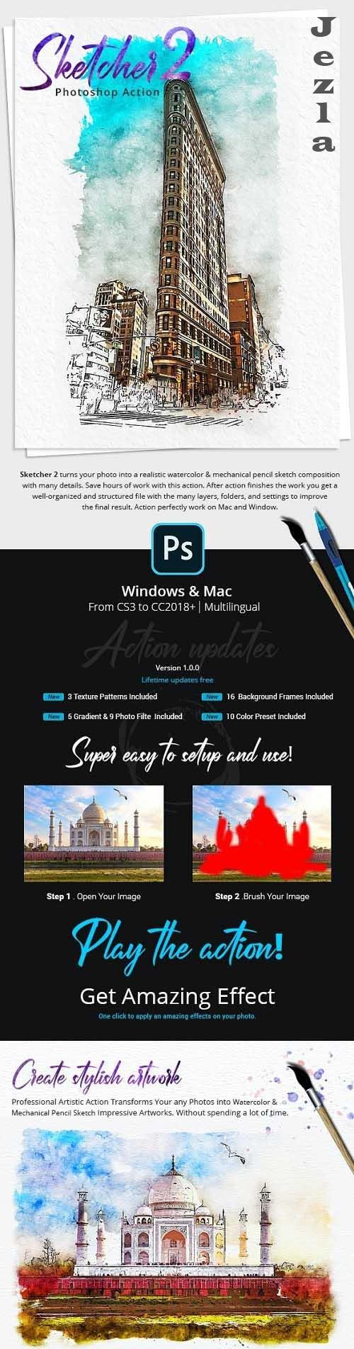 Sketcher 2 PHSP Action - 33112835