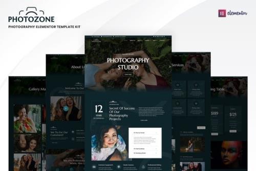 ThemeForest - Photozone v1.0.1 - Photography Elementor Template Kit - 33956278