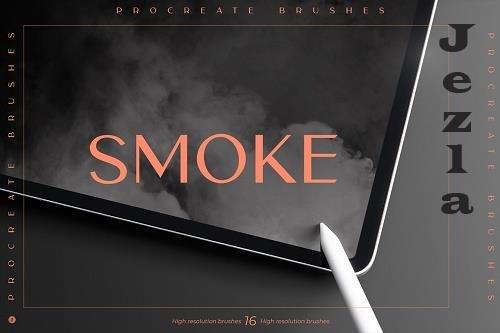 Smoke Procreate Brushes - 6492851