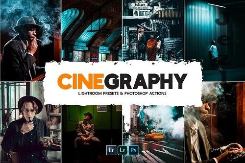 Cinegraphy Presets & Actions - 6240899