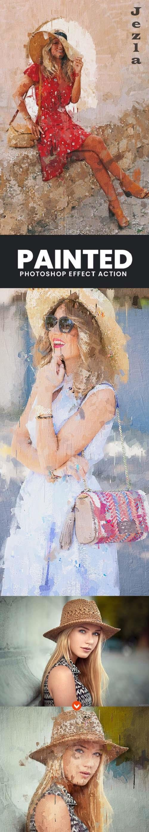 Painted Photoshop Effect - 32982177