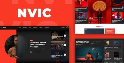 ThemeForest - Nvic v1.0.0 - Blog and Magazine HTML Template - 33980821