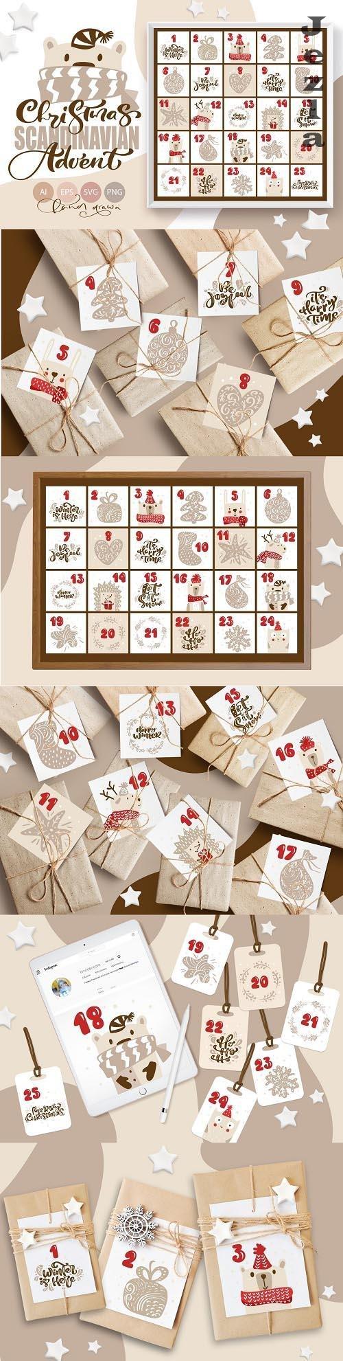 Christmas Scandinavian Advent - 6534488