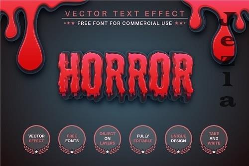 Slasher - Editable Text Effect - 6535293