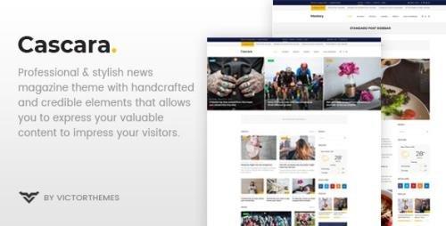 ThemeForest - Cascara v1.7.1 - Blog, News & Magazine WordPress Theme - 22580860