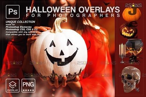 Halloween clipart Halloween overlay, Photoshop overlay V20 - 1584048