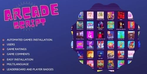 CodeCanyon - Mobile Responsive Arcade Site Script v2.4.3 - 25760680