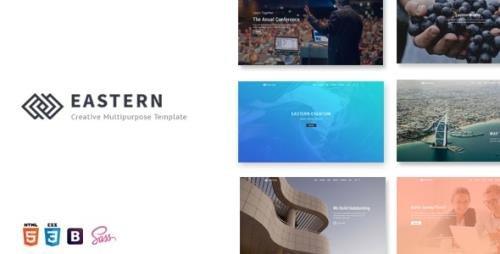 ThemeForest - Eastern v1.0 - Creative Multipurpose Template - 20741245