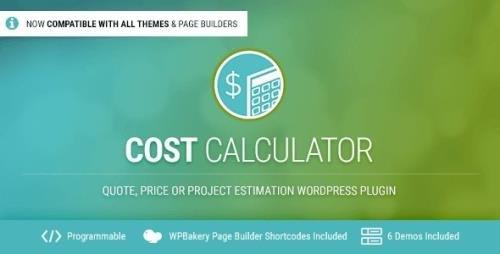 CodeCanyon - Cost Calculator v2.3.6 - WordPress Plugin - 12778927