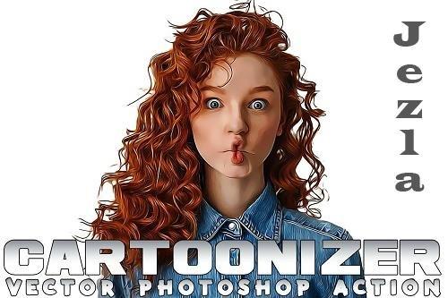 Cartoonizer Photoshop Action - BVUPBDX