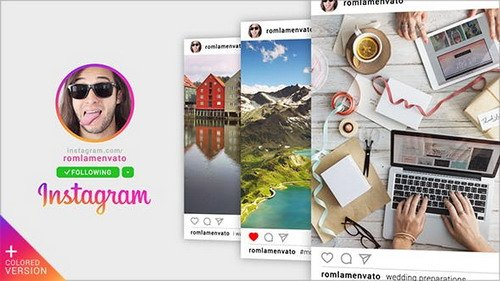 Fast Instagram Promo 19347027 - Project for After Effects (Videohive)