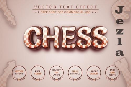 Chess - editable text effect - 6553855
