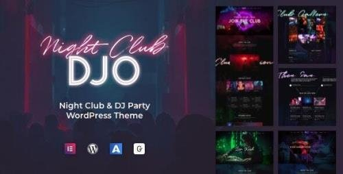 ThemeForest - DJO v1.0.8 - Night Club and DJ WordPress - 26375103