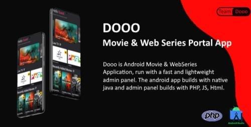 CodeCanyon - Dooo v1.5.5 - Movie & Web Series Portal App - 31258711 - NULLED