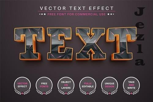 Triangle Pink - Editable Text Effect - 6555320