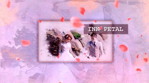 Проект ProShow Producer - Ink Slideshow Petal
