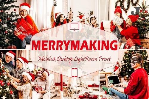 12 Merrymaking Mobile & Desktop Lightroom Presets - 1608744
