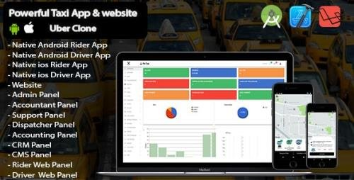 CodeCanyon - Pin Taxi v1.0 - Complete Solution Taxi app - 32194308