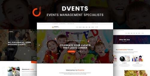 ThemeForest - Dvents v1.2.0 - Events Management Companies and Agencies WordPress Theme - 20289807