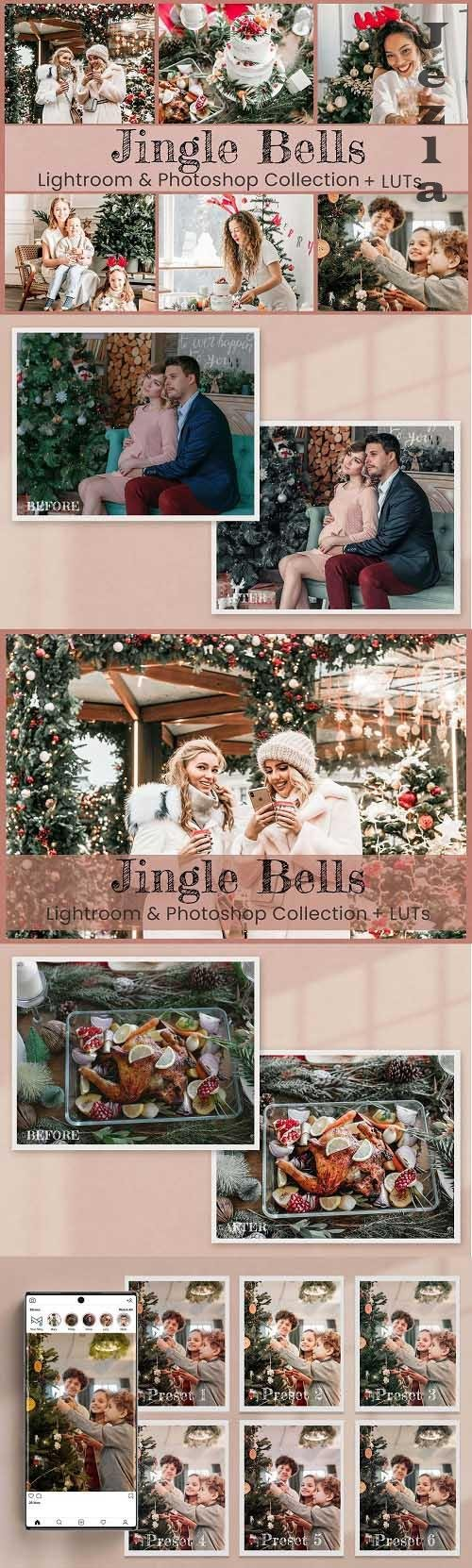 Jingle Bells Lightroom Photoshop LUT - 6562871