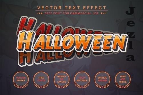 Halloween - Editable Text Effect - 6560986
