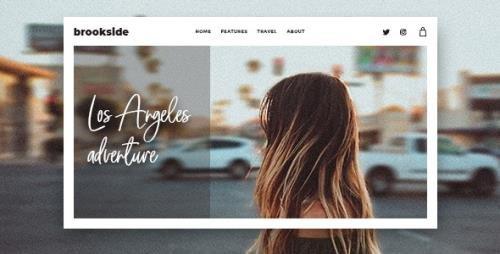 ThemeForest - Brookside v1.3.0 - Personal WordPress Blog Theme - 24211814