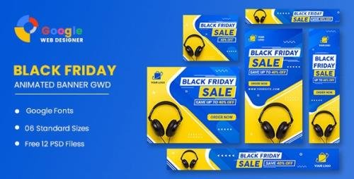 CodeCanyon - Product Sale Black Friday HTML5 Banner Ads GWD v1.0 - 34125218