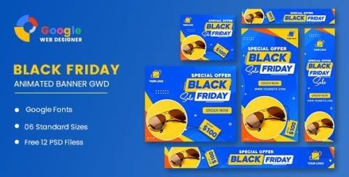 CodeCanyon - Black Friday Sale Fashion HTML5 Banner Ads GWD v1.0 - 33969271