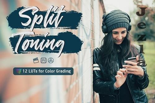 Split Toning Video LUTs - 6464979