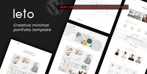 ThemeForest - Leto v1.0 - Creative Minimal Portfolio Template (Update: 15 November 18) - 20540020