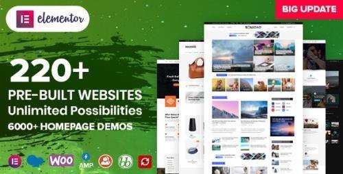 ThemeForest - Soledad v8.0.1 - Multi-Concept Blog Magazine AMP WordPress Theme - 12945398 -