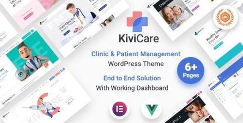 ThemeForest - KiviCare v1.4.2 - Medical Clinic & Patient Management WordPress Theme - 29201853