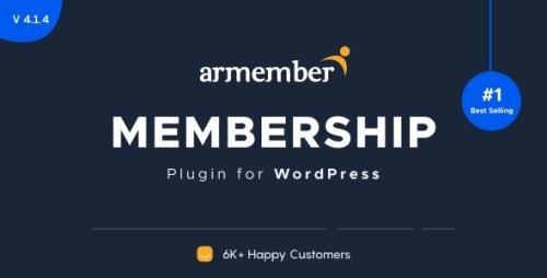 CodeCanyon - ARMember v4.6.0 - WordPress Membership Plugin - 17785056 + Add-Ons - NULLED