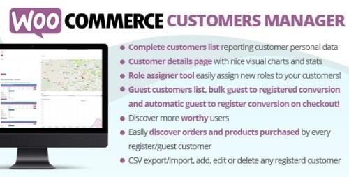 CodeCanyon - WooCommerce Customers Manager v27.5 - 10965432 - NULLED