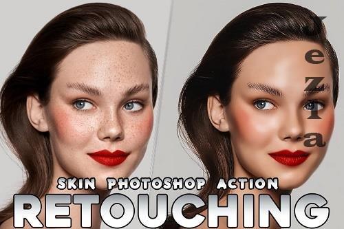 Skin Retouching HDR Fashion PHSP Action