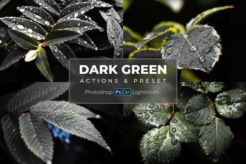Phtoshop Actions & LRM Presets - Dark Green