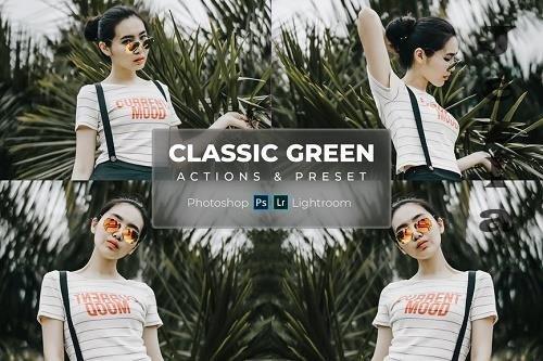 Classic Green - Actions & LRM Preset