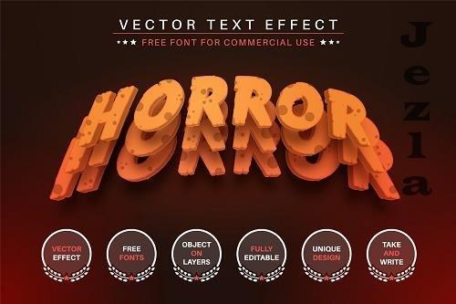 Horror - Editable Text Effect - 6572973