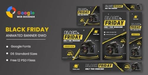 CodeCanyon - Product Sale Black Friday HTML5 Banner Ads GWD v1.0 - 34193028