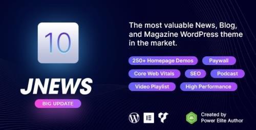 ThemeForest - JNews v9.0.2 - WordPress Newspaper Magazine Blog AMP Theme - 20566392 -