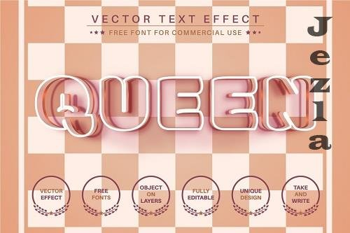 Chess - Editable Text Effect - 6582479