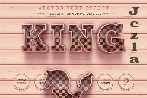 Play Chess - Editable Text Effect - 6583129